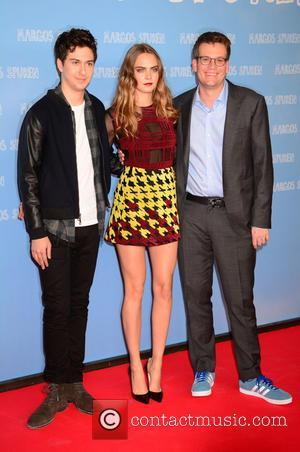 Nat Wolff, Cara Delevingne and John Green
