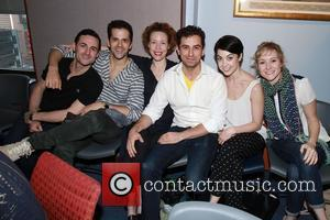 Max Von Essen, Robert Fairchild, Veanne Cox, Brandon Uranowitz, Leanne Cope and Jill Paice