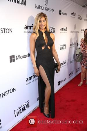 Laverne Cox Strips For Broadway Fundraiser
