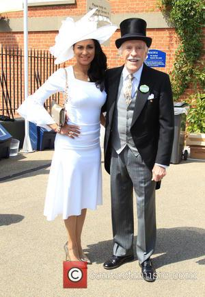 Sir Bruce Forsyth and Wilnelia Merced - Royal Ascot 2015 held at Ascot Racecourse - Day 1 at Royal Ascot...
