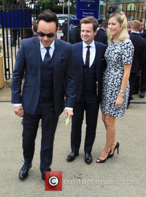 Anthony McPartlin, Declan Donnelly and Ali Astall