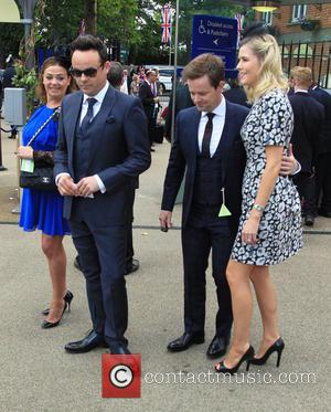 Lisa Armstrong, Anthony McPartlin, Declan Donnelly and Ali Astall
