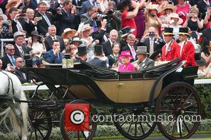 Prince Philip, Duke Of Edinburgh, Queen Elizabeth Ii, Prince Andrew and Prince Harry