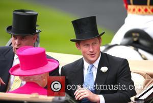 Queen Elizabeth Ii, Prince Andrew and Prince Harry