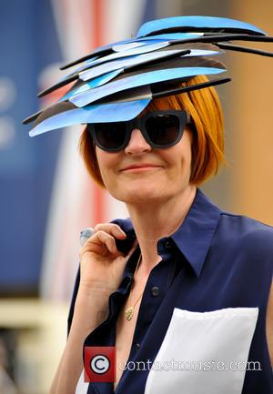 Mary Portas - Royal Ascot 2015 held at Ascot Racecourse - Day 2 at Ascot Race Course, Royal Ascot -...