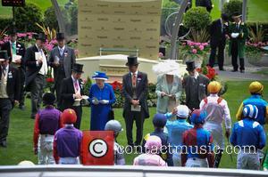 HRH Queen Elizabeth ii, Duchess of Gloucester and Duke of Gloucester
