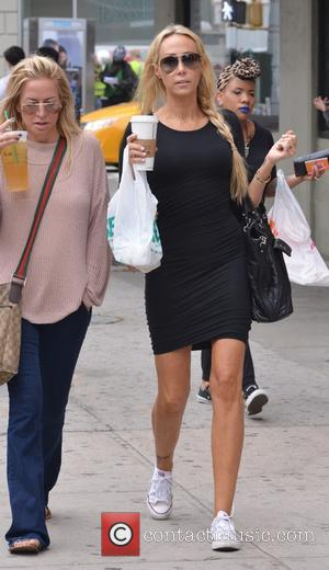 Tish Cyrus - Tish Cyrus out and about in New york City - Manhattan, New York, United States - Tuesday...