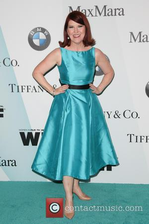 Kate Flannery - Women In Film 2015 Crystal + Lucy Awards at the Hyatt Regency Century Plaza at Hyatt Regency...