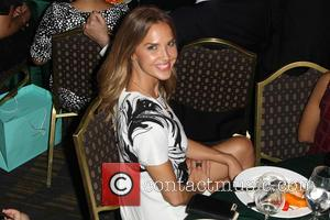 Arielle Kebbel - Women In Film 2015 Crystal + Lucy Awards - Show at the Hyatt Regency Century Plaza at...