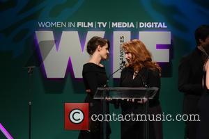 Kristen Stewart and Stephanie Meyer - Women In Film 2015 Crystal + Lucy Awards - Show at the Hyatt Regency...
