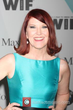 Kate Flannery - Women in Film Crystal and Lucy Awards 2015 - Arrivals at Century Plaza Hotel - Century City,...