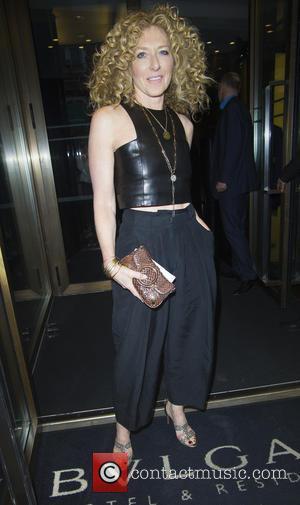 Kelly Hoppen - Red Magazine dinner in honour of Yasmin Le Bon at Bulgari Hotel - London, United Kingdom -...
