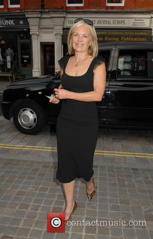 Mariella Frostrup - Celebrities at the Chiltern Firehouse - London, United Kingdom - Wednesday 17th June 2015