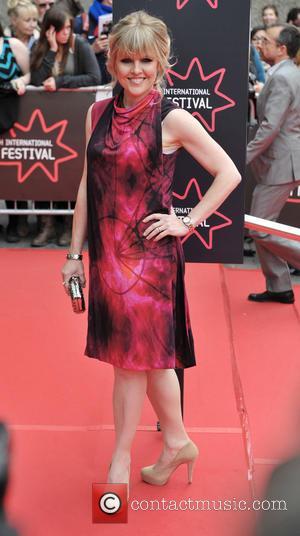 Ashley Jensen - Arrivals at the Edinburgh International Film Festival Opening Night Gala red carpet. at Festival Theatre - Edinburgh,...