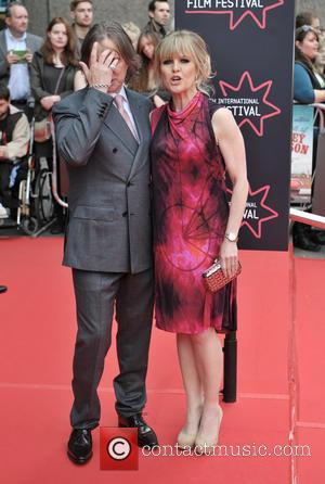Robert Carlyle and Ashley Jensen - Arrivals at the Edinburgh International Film Festival Opening Night Gala red carpet. at Festival...