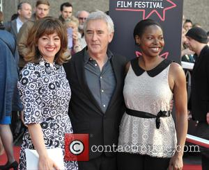 Jo Hartley, Denis Lawson and Jaqueline Lyanga