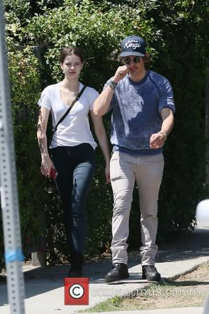 Lukas Haas - Lukas Haas out shopping with a female companion in West Hollywood - Los Angeles, California, United States...
