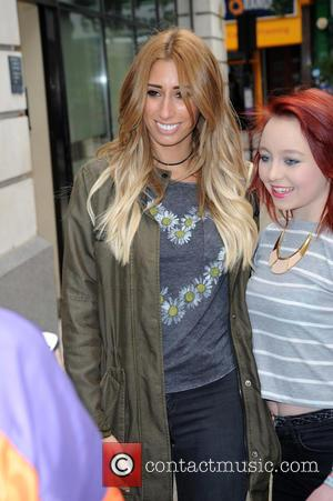 Stacey Solomon - Stacey Solomon arrives at BBC Radio 2 - London, United Kingdom - Wednesday 17th June 2015