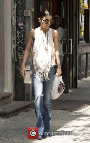 Vanessa Hudgens - Vanessa Hudgens Out and About - New York, New York, United States - Wednesday 17th June 2015
