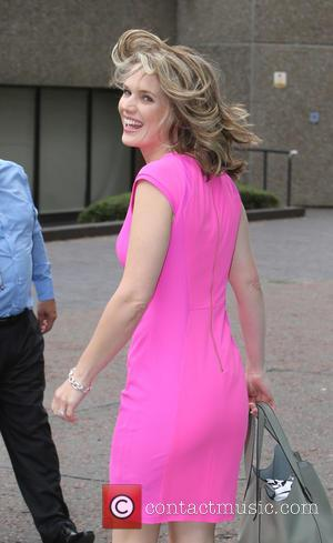 Charlotte Hawkins - Charlotte Hawkins outside the ITV Studios - London, United Kingdom - Wednesday 17th June 2015