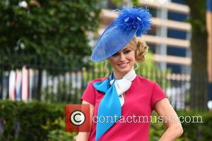 Ola Jordan - Ola Jordan models an outfit made from jockey silks by designer Ben de Lisi exclusively for bookmaker...