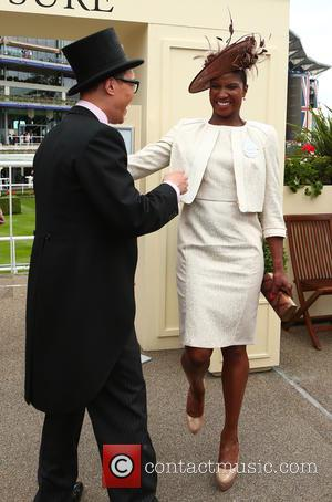 Denise Lewis and Gok Wan
