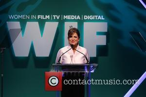 Cathy Schulman - Women In Film 2015 Crystal + Lucy Awards - Show at the Hyatt Regency Century Plaza at...