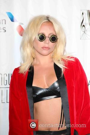 Lady Gaga - Songwriters Hall of Fame 2015 46th Annual Induction and Awards Gala at The New York Marriott Marquis...