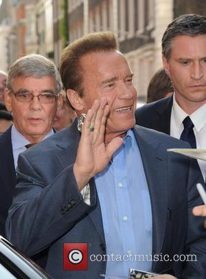 Arnold Schwarzenegger - Arnold Scwarzenegger sighting at Claridge's - London, United Kingdom - Thursday 18th June 2015