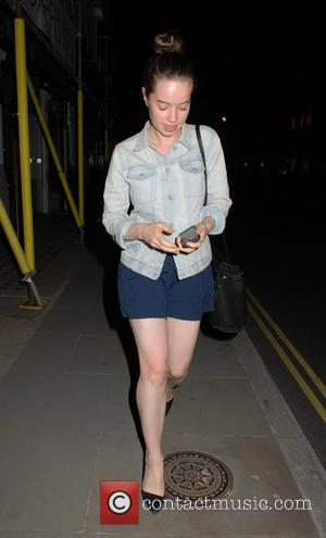 Anna Popplewell - Celebrities at the Chiltern Firehouse - London, United Kingdom - Thursday 18th June 2015