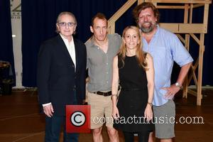 Sander Jacobs, Jeffrey Seller, Jill Furman and Oskar Eustis