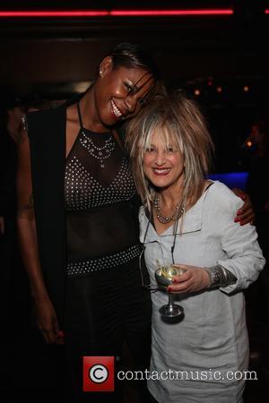 Sonique and Elizabeth Emanuel