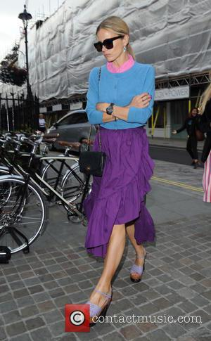 Laura Bailey - Celebrities at the Chiltern Firehouse - London, United Kingdom - Thursday 18th June 2015