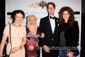 Marina Alyabusheva, (Olga Kurylenko's mum) Helen Bubnova, Prince Rotislav Romanov and Regina Myannik (actress) - The Russian Royal Charity Screening...