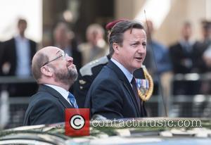 David Cameron and Martin Schulz