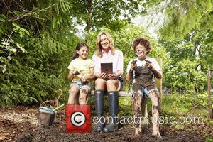 Gabby Logan - British children now only play outside for an average of 49 minutes a day, compared to 127...