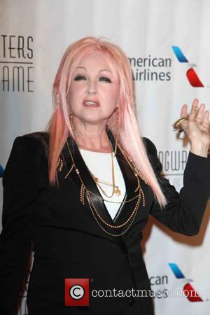 Cyndi Lauper - Songwriters Hall of Fame 2015 46th Annual Induction and Awards Gala at The New York Marriott Marquis...
