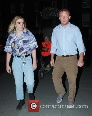 Rocco Ritchie and Guy Ritchie