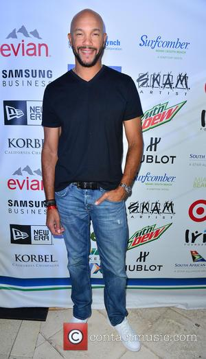 Stephen Bishop - 11th Annual Irie Weekend - Day 1 - Arrivals at Kimpton Surfcomber Hotel - Miami Beach, Florida,...