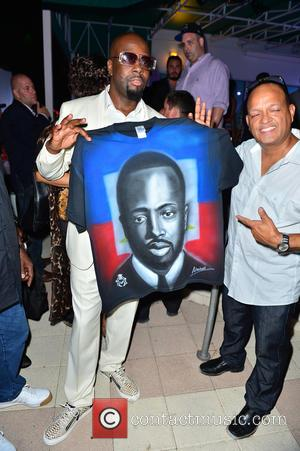 Wyclef Jean - 11th Annual Irie Weekend - Day 1 - Arrivals at Kimpton Surfcomber Hotel - Miami Beach, Florida,...