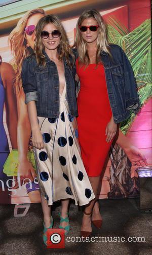 Georgia May Jagger and Alexandra Richards