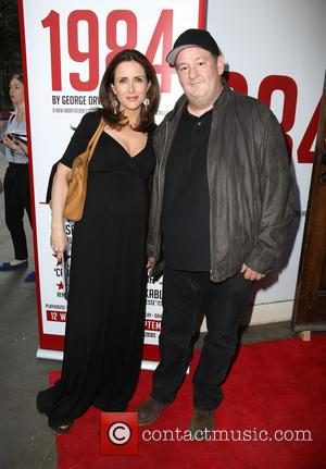 Maia Dunphy and Johnny Vegas