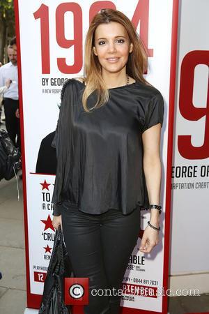 Linda Papadopoulos - '1984' play press night - London, United Kingdom - Friday 19th June 2015