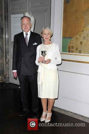 Ronald Lauder and Helen Mirren