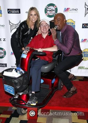 Cheryl Hines, Jacob Zalewski and Montel Williams