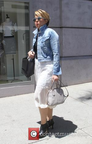 Yeardley Smith - Yeardley Smith, known as the voice of Lisa Simpson, goes shopping in Beverly Hills - Los Angeles,...