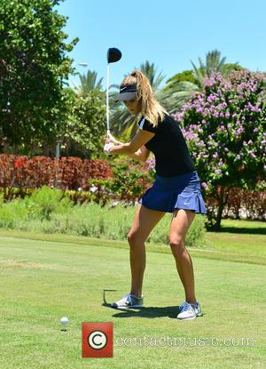 Nina Agdal - 11th Annual JEEP Celebrity Golf Tournament during The 11th Annual Irie Weekend at Miami Beach Golf Course...