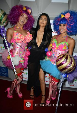 Kylie Jenner - Sugar Factory Grand Opening in South Beach at Victor Hotel - Miami Beach, Florida, United States -...