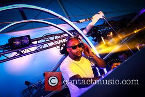 Idris Elba - Idris Elba performs a DJ set at Goodwood Racecourse in West Sussex at the last of their...