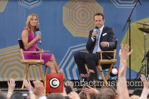 Lara Spencer and Vince Vaughn